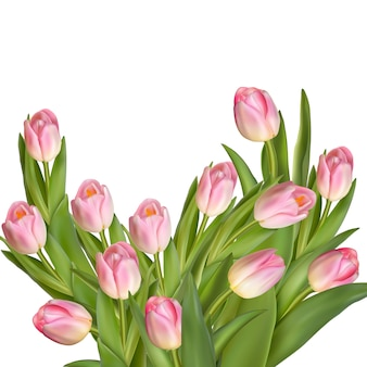 Букет из тюльпанов.