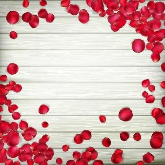 バレンタインの日カード。