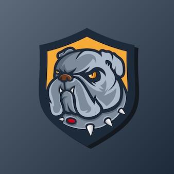 Бульдог логотип