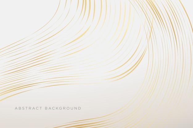 Современный белый роскошный фон с эффектом золотой росписи премиум