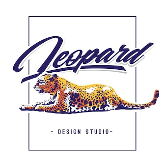 Леопард дизайн