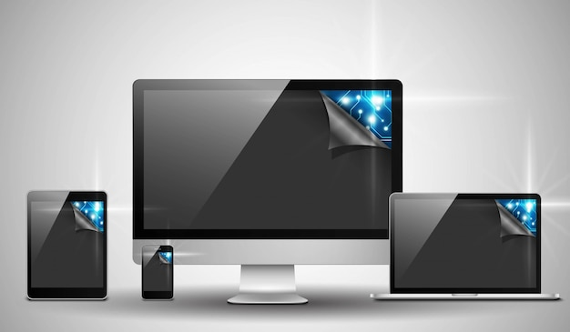 Электронные устройства с высокотехнологичной платой