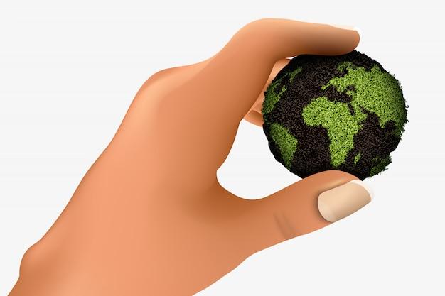 Иллюстрация возобновляемой энергии