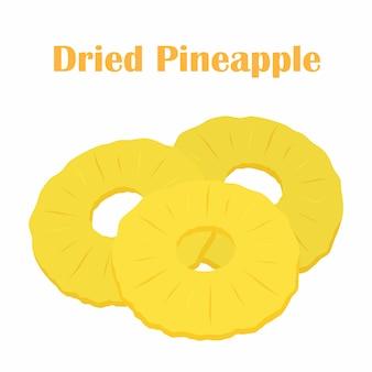 乾燥パイナップル、スライス