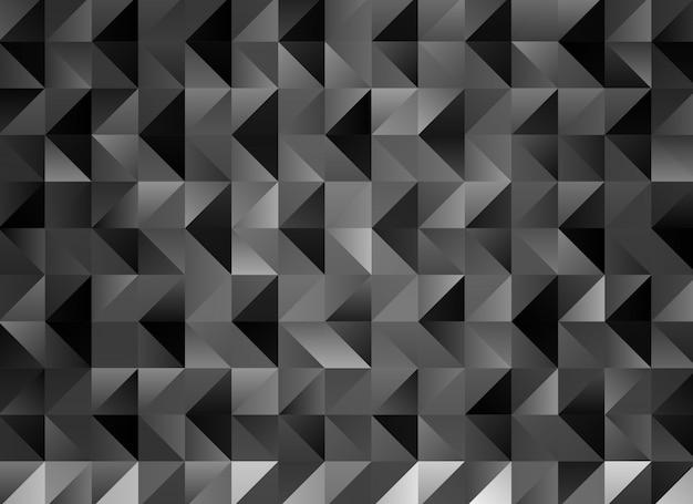 多色灰色の幾何学的なしわくちゃ三角形の低ポリスタイルグラデーショングラフィックの背景。