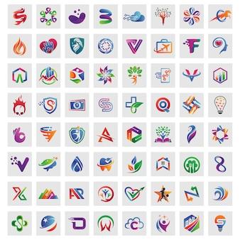 Лучшие коллекции шаблонов логотипов