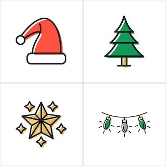 クリスマスの要素