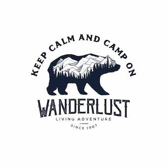 Медведь логотип