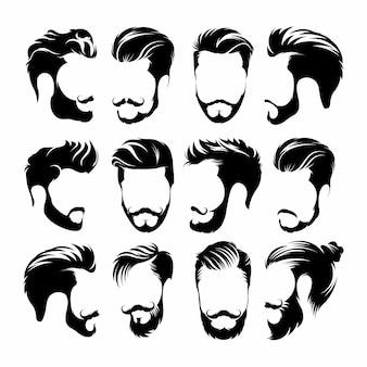 流行に敏感な髪