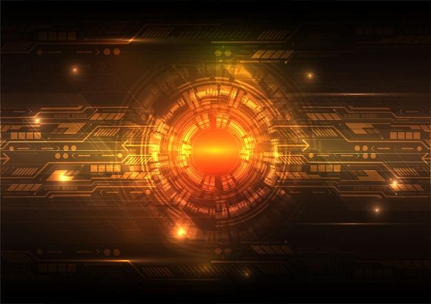 デジタル技術の抽象的な背景のコンセプト