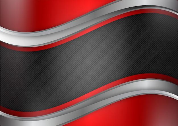 Геометрический вектор абстрактный фон красного и черного цвета