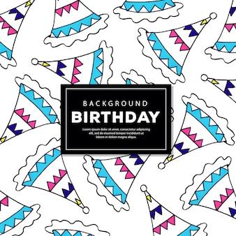 Фон модель день рождения