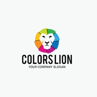 カラーライオンのロゴ