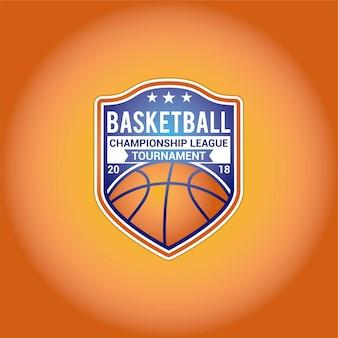 バスケットボールのロゴデザイン