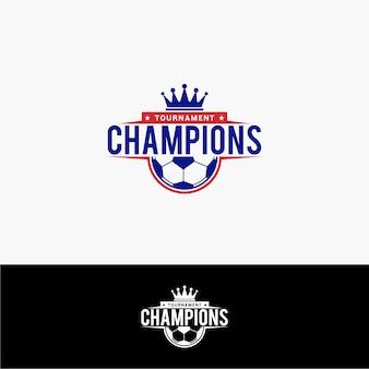 サッカーチャンピオンのロゴ