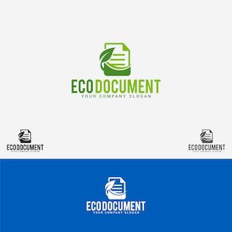Эко документ логотип