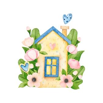花のかわいい水彩画家