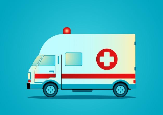 サイレンと救急車