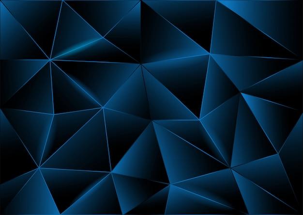 三角形の抽象的な背景、ベクトルのモダンなデザイン
