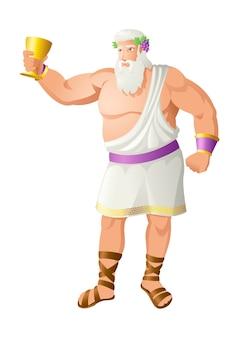 ブドウ収穫の神ディオニソス