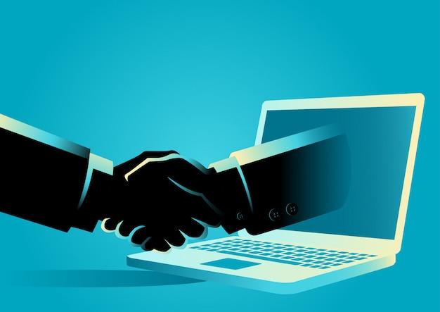 オンラインビジネス取引