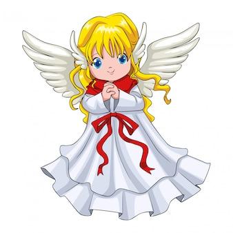 天使のかわいい漫画