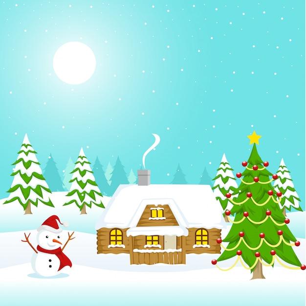 クリスマスのテーマと背景