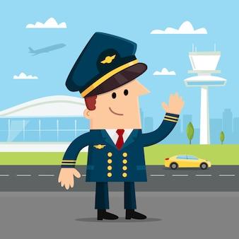 Пилот авиалинии