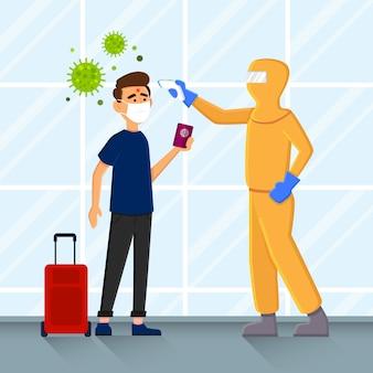 Аэропорт сканирования на вирусы