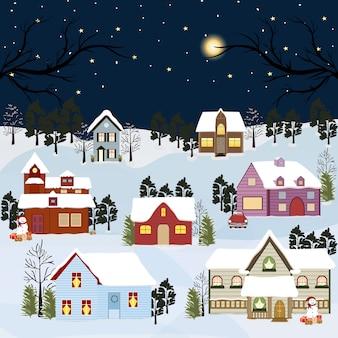 冬の風景。
