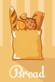 袋の中のパン