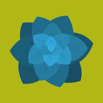 Красочный цветочный символ