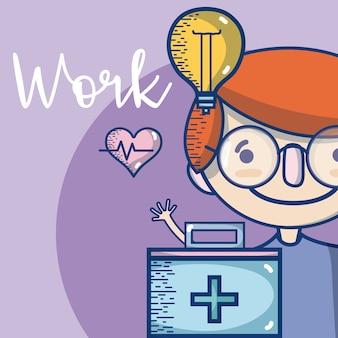 医師の職業はかわいいと柔らかい漫画