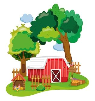 美しい農場の漫画