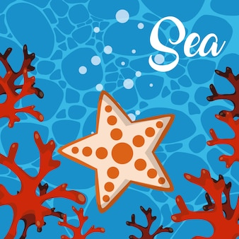 Симпатичные морские мультфильмы