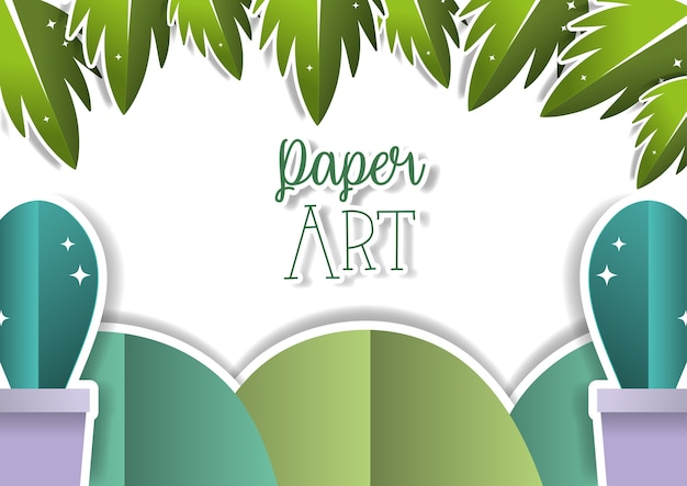 Бумажный пейзаж