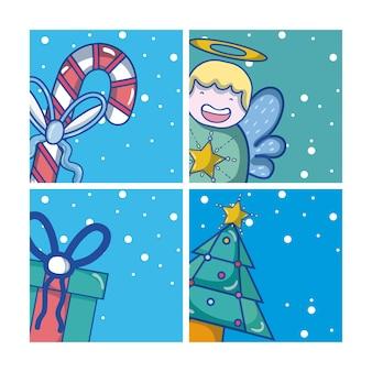 Набор рождественских мультфильмов
