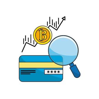 ビットコインの矢印通貨のクレジットカード