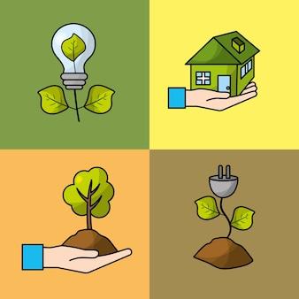 環境保護と生態学的保護を設定する
