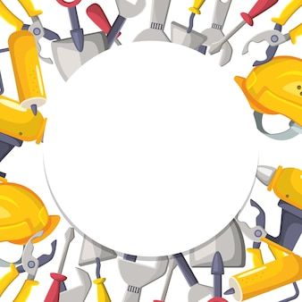 機械式労働ツールの背景設計