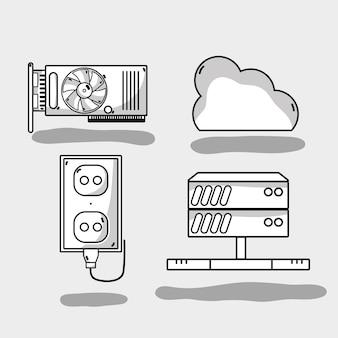 Установка технологии обслуживания центров обработки данных