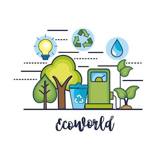 自然環境保護へのエコロジーの保護
