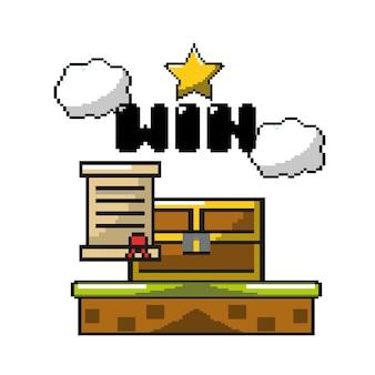 グラフィックデザインキャラクターによる電子ゲーム