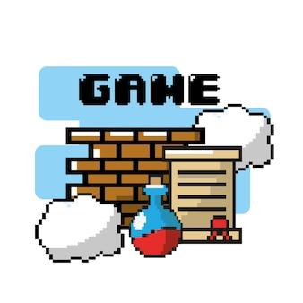 グラフィックデザインによるビデオゲームのプレイ技術