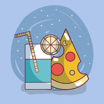 Пицца быстрого питания