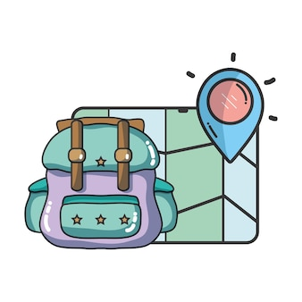 旅行と休暇の漫画