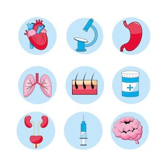 医療相談の病気の病気を設定する
