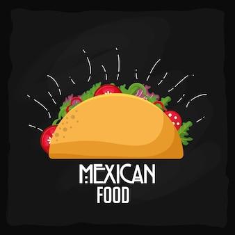 メキシコ料理のデザイン