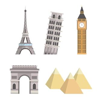 Установите глобальные башни туристического приключения