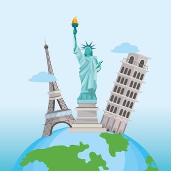 Международные туристические поездки и глобальное направление